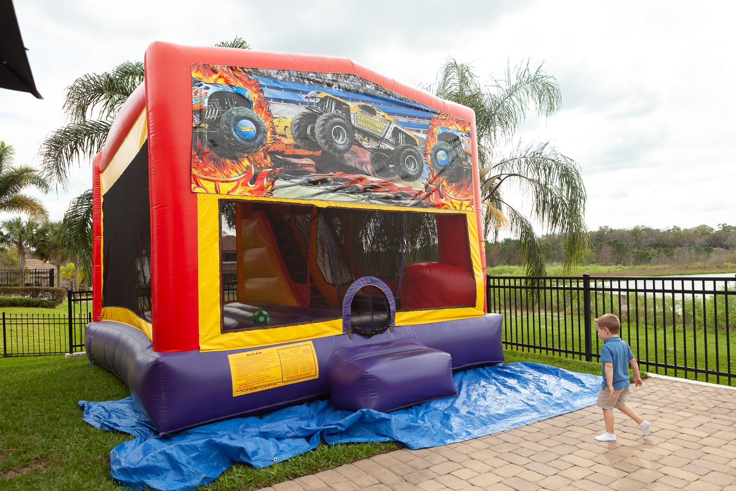 Hotwheels themed birthday party