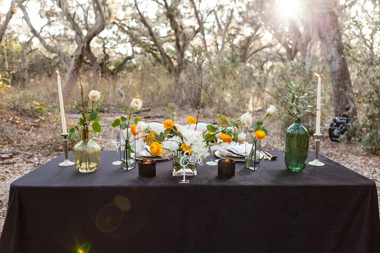 spring awakening styled wedding photos