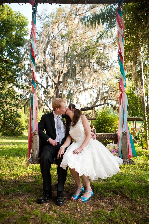 Backyard wedding ideas | At-home wedding in Orlando, Florida