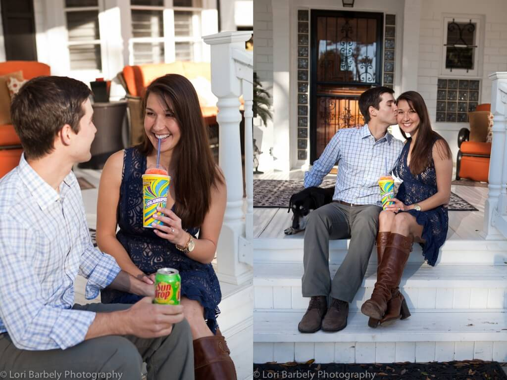 Central Florida engagement photographer