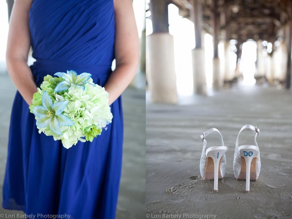 Cocoa Beach Pier Wedding, Florida