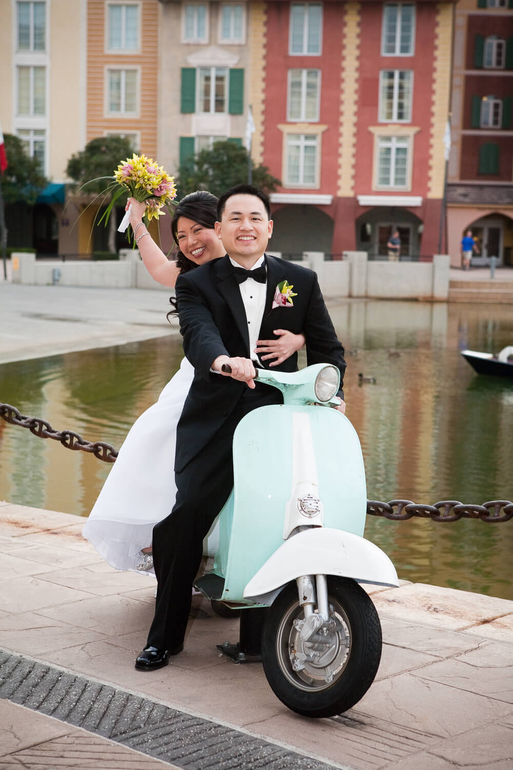 Universal Loews Portofino Bay Hotel wedding photos