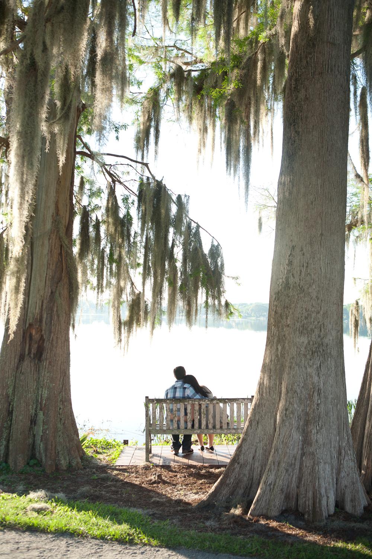 Winter Park engagement photos