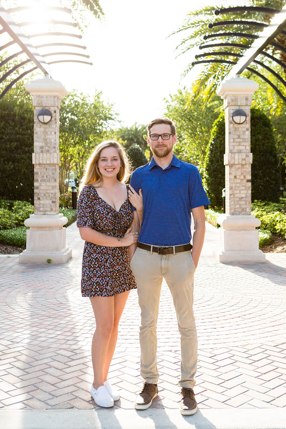 Winter Springs, Florida engagement photos