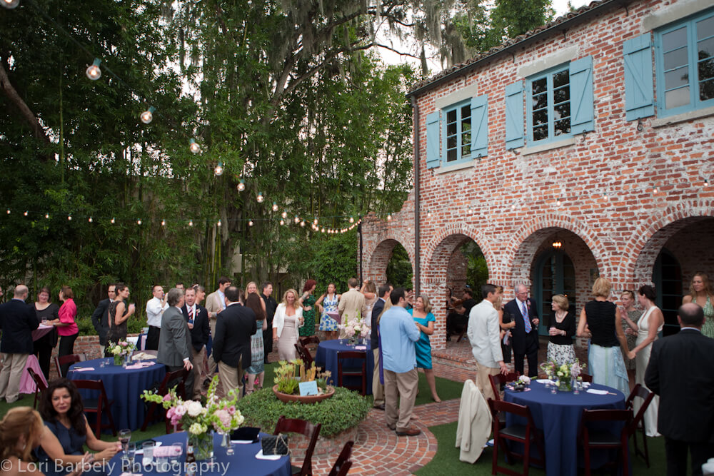 wedding photos at Casa Feliz, Winter Park, Florida