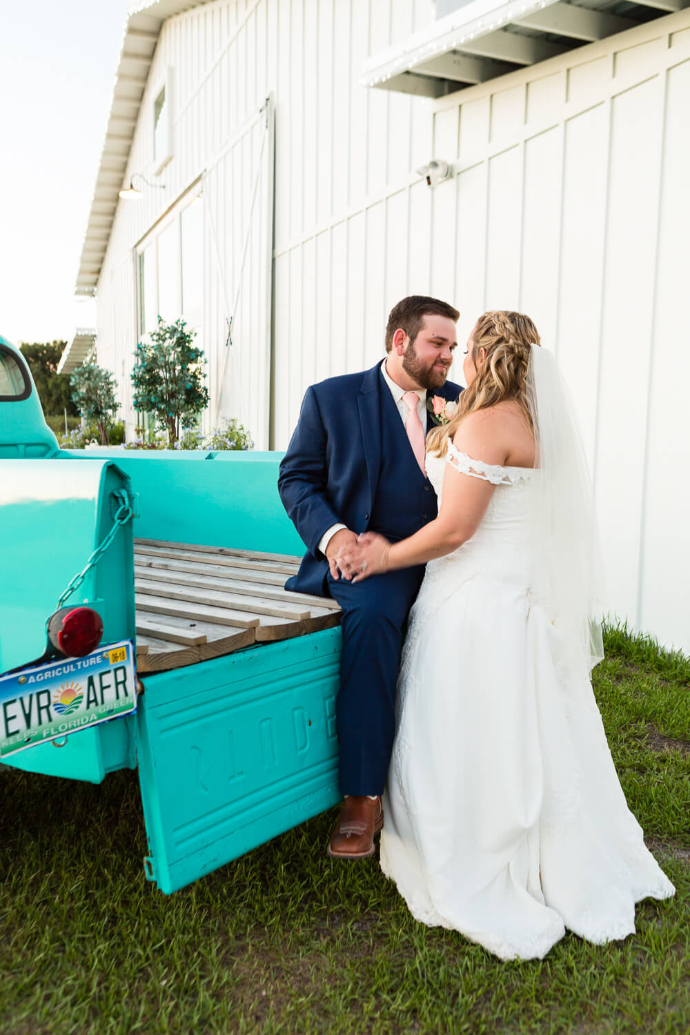 Ever After Farms Blueberry Barn wedding