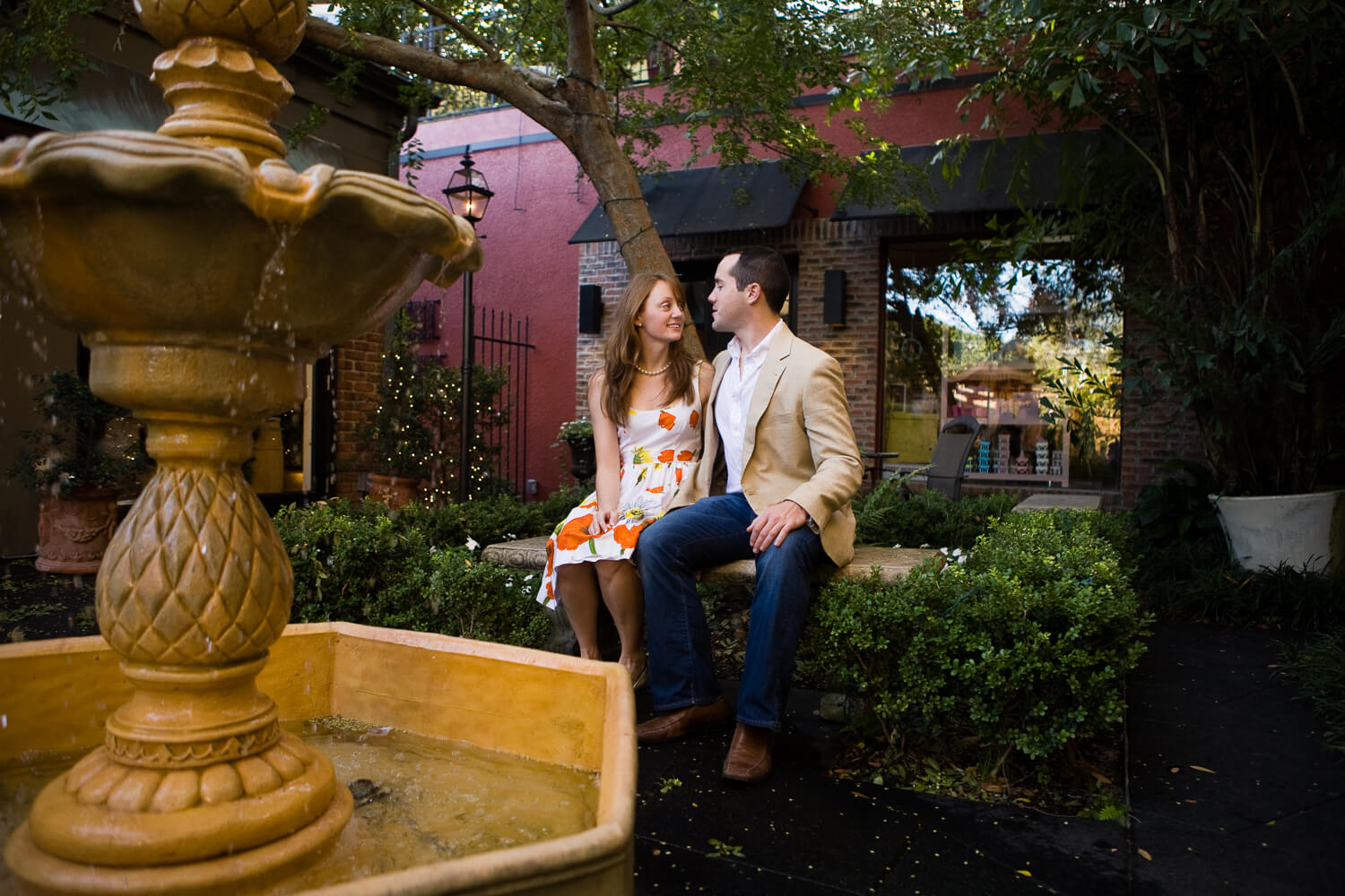 Engagement photos in Winter Park, FL