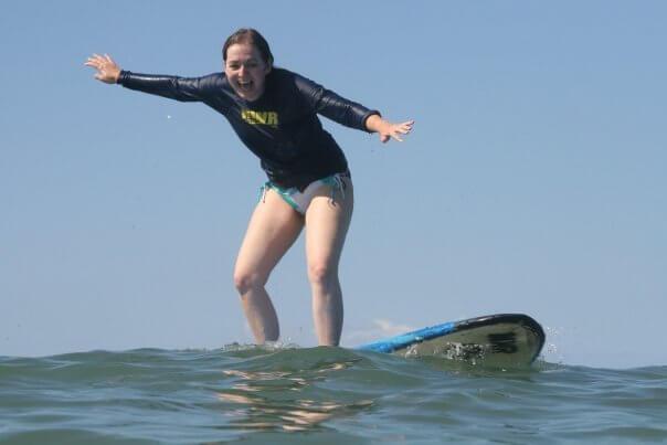 Maui surf lesson 2009