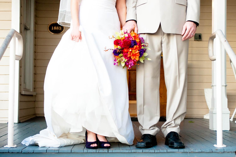 Wedding at Orlando's Courtyard at Lake Lucerene