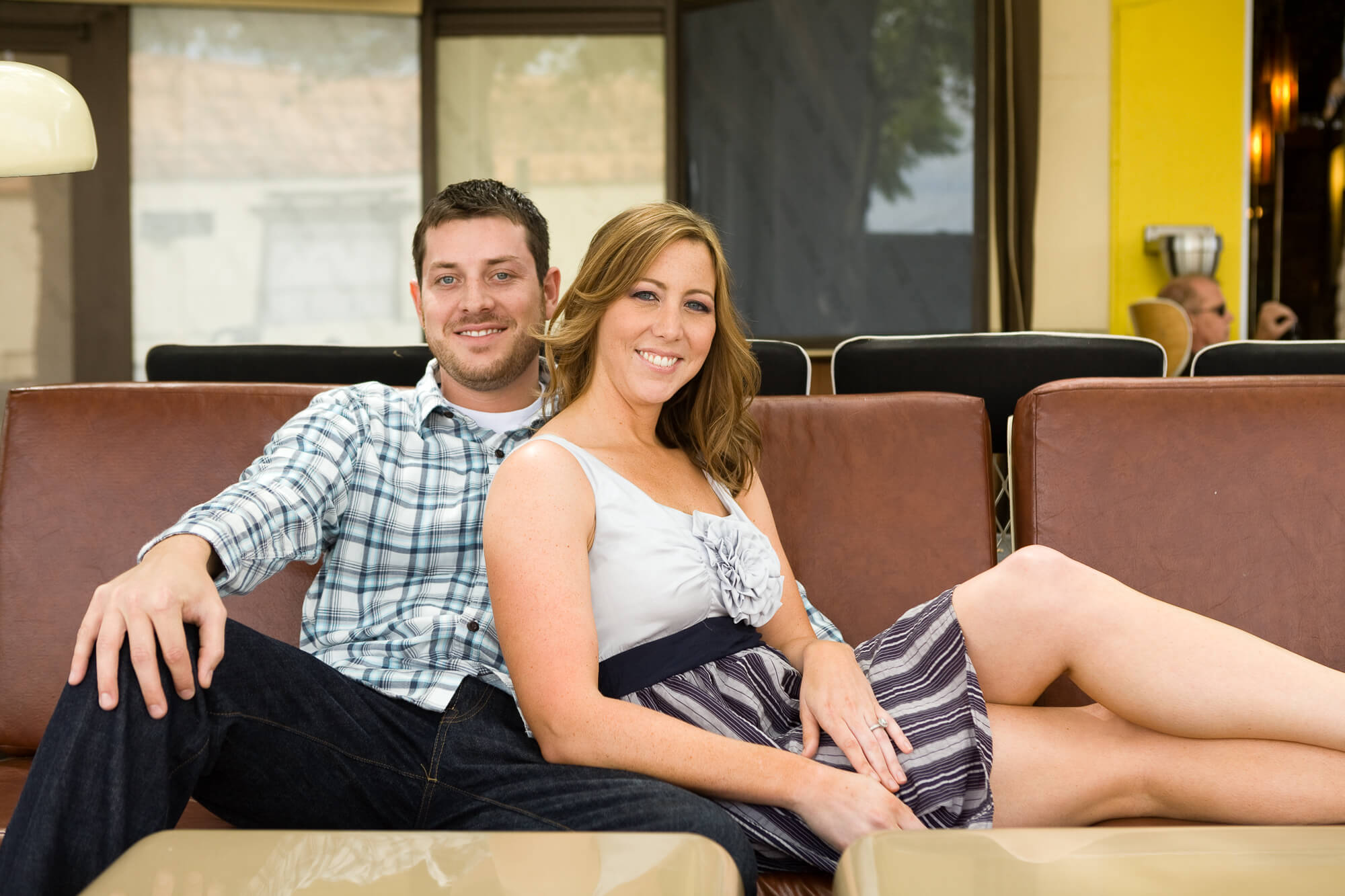 Erin and Brandon's Orlando engagement photo session