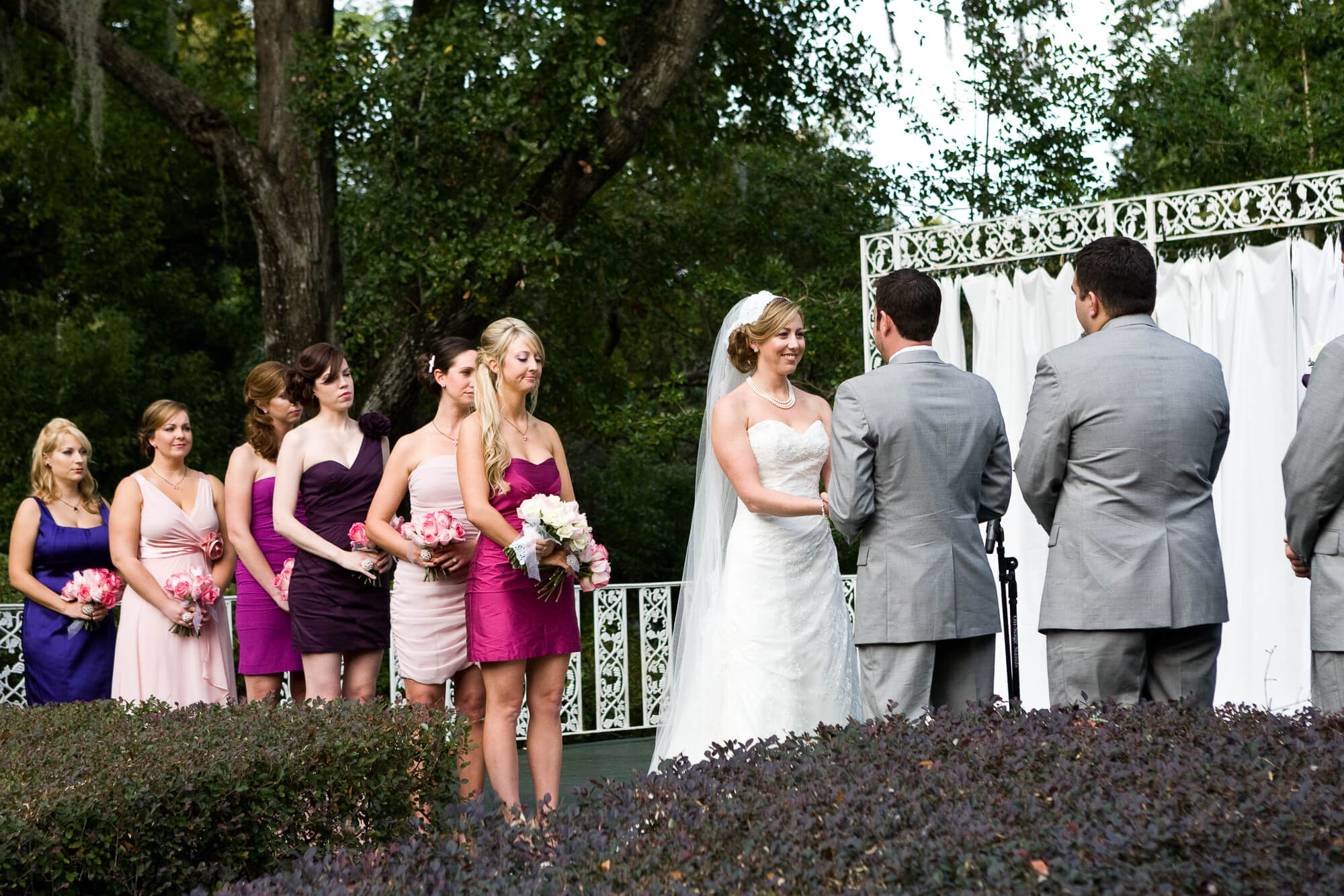 Mead Gardens, Orlando, Florida wedding