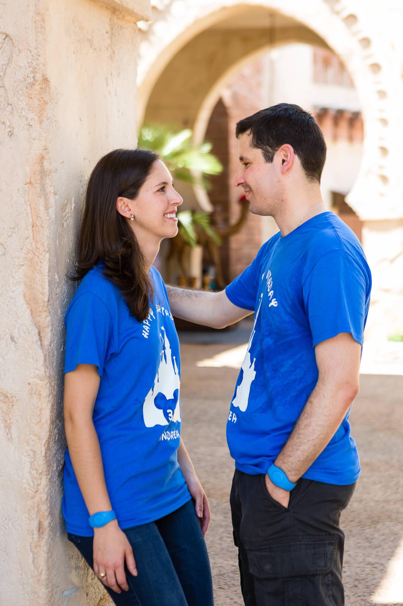 Jose and Andrea's proposal photos at epcot