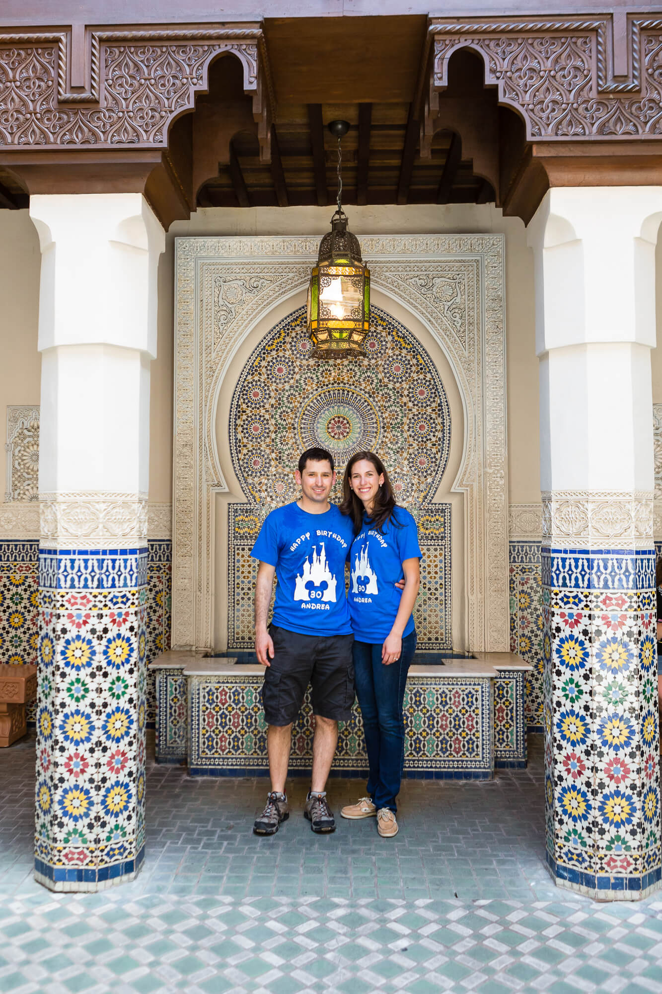 Jose and Andrea's proposal photos at epcot