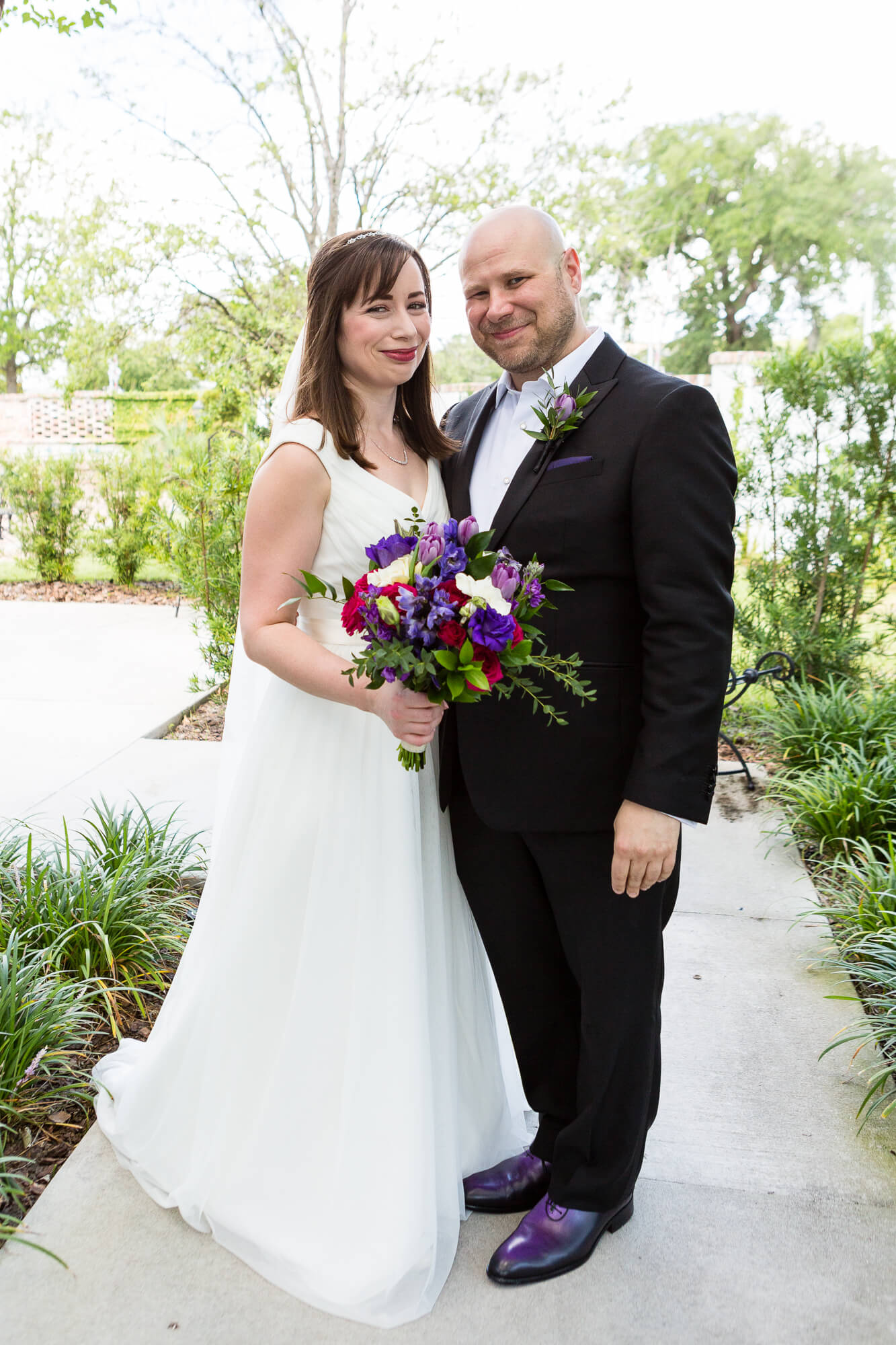 wedding photos from Amanda and Ryan's surprise wedding at Winter Park Florida's Chapel & Cellar wedding venue