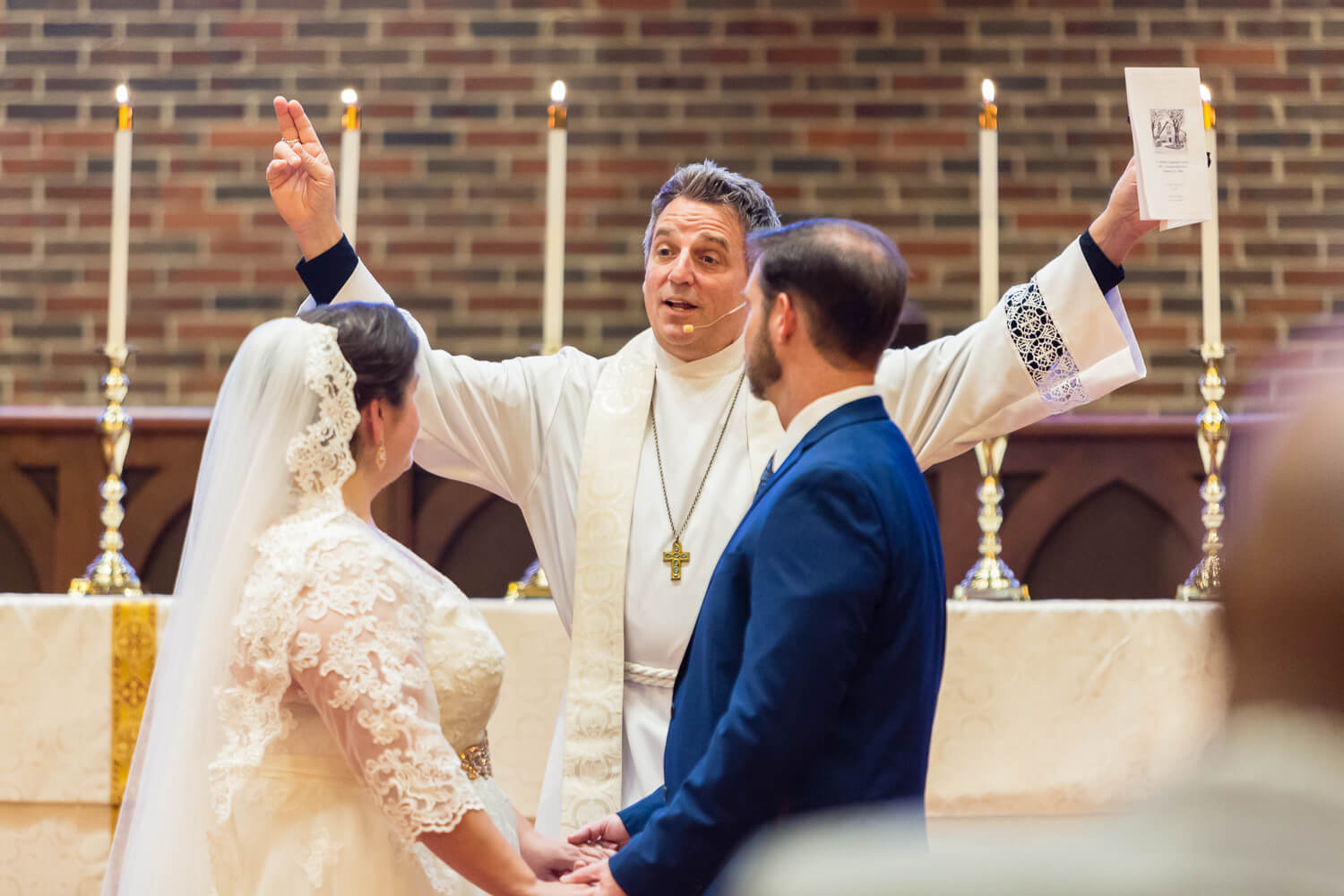 St. Michael's Episcopal Church wedding photos