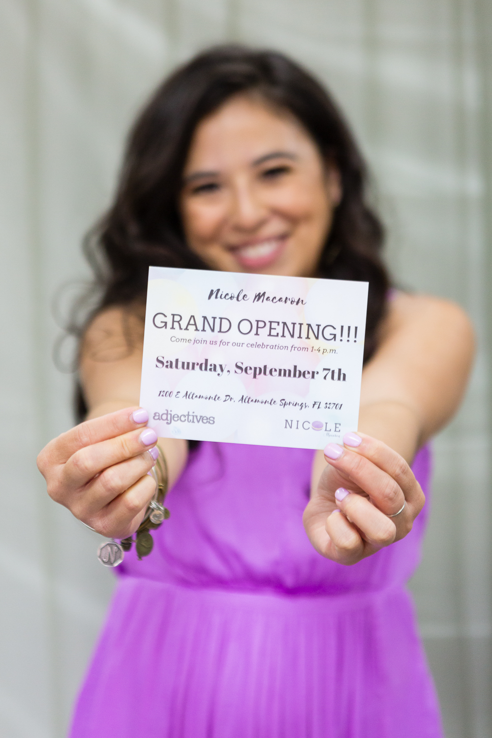 The original grand opening date was September 7, but it was moved up to August 31.