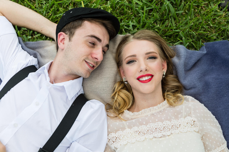 Intimate wedding shoot themed around The Notebook Movie