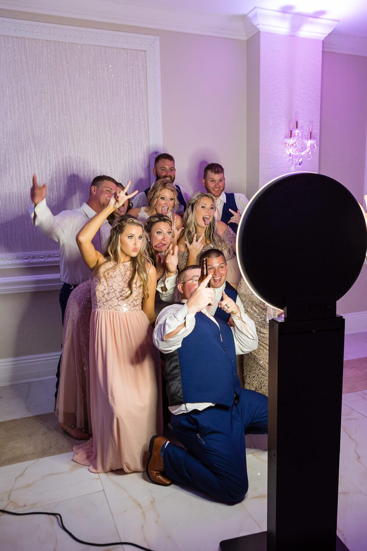 Crystal Ballroom Daytona blush pink wedding