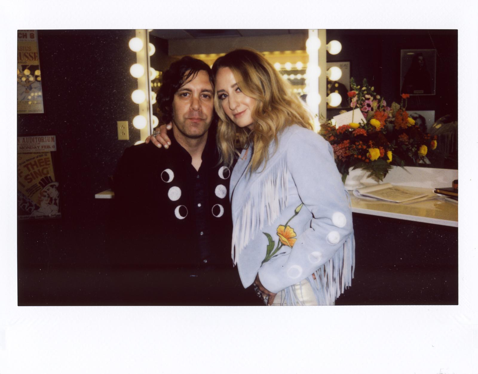 Jeremy and Margo backstage