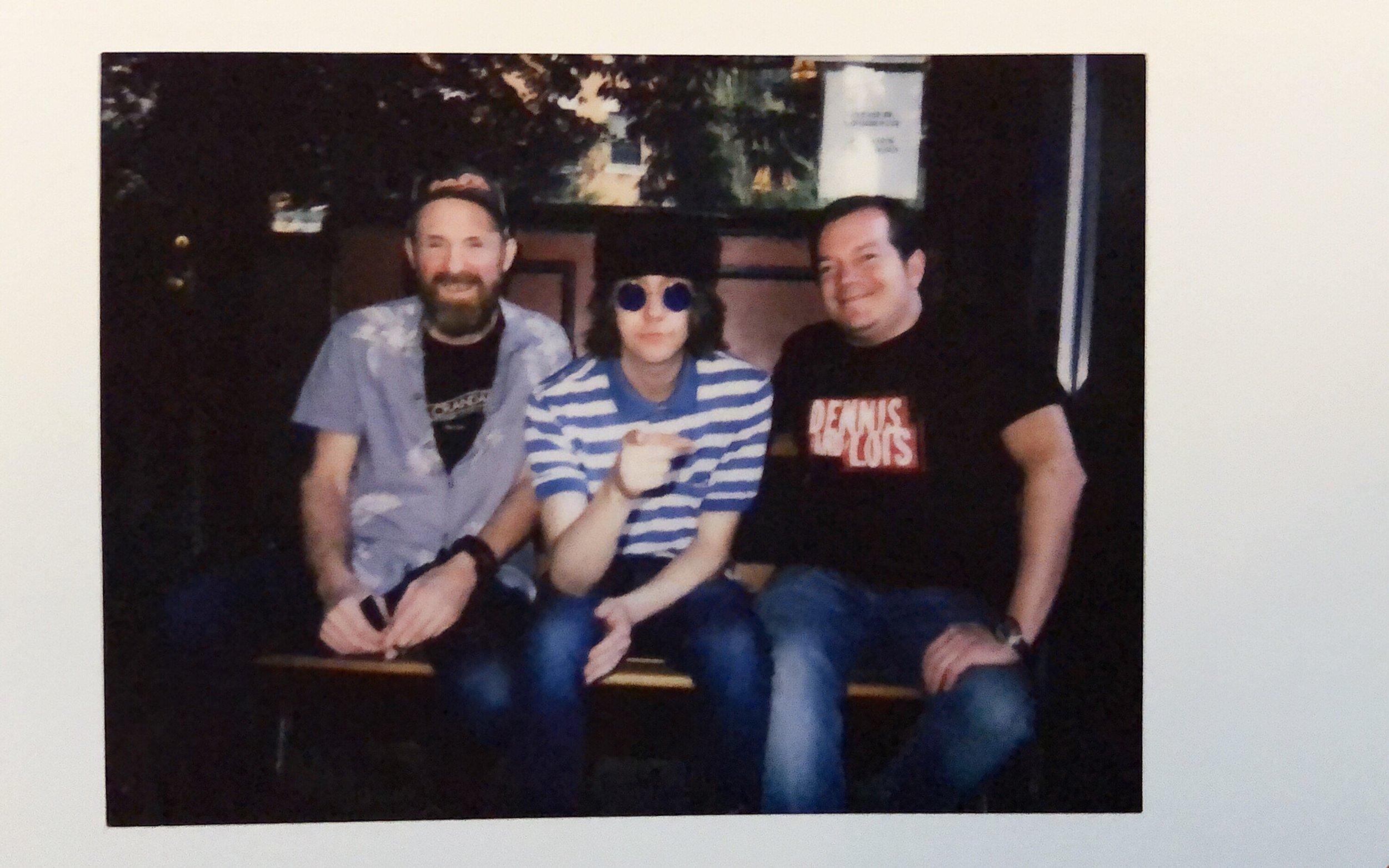 Kenny O'Connor, Aaron Lee Tasjan, and Dan Sweeney at 11th St. Bar