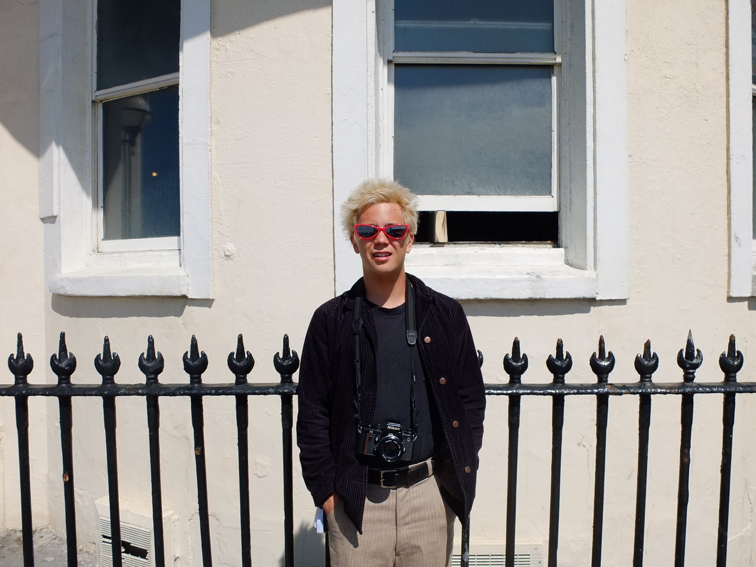Alec in Brighton, UK. Photo by Shaun Couture