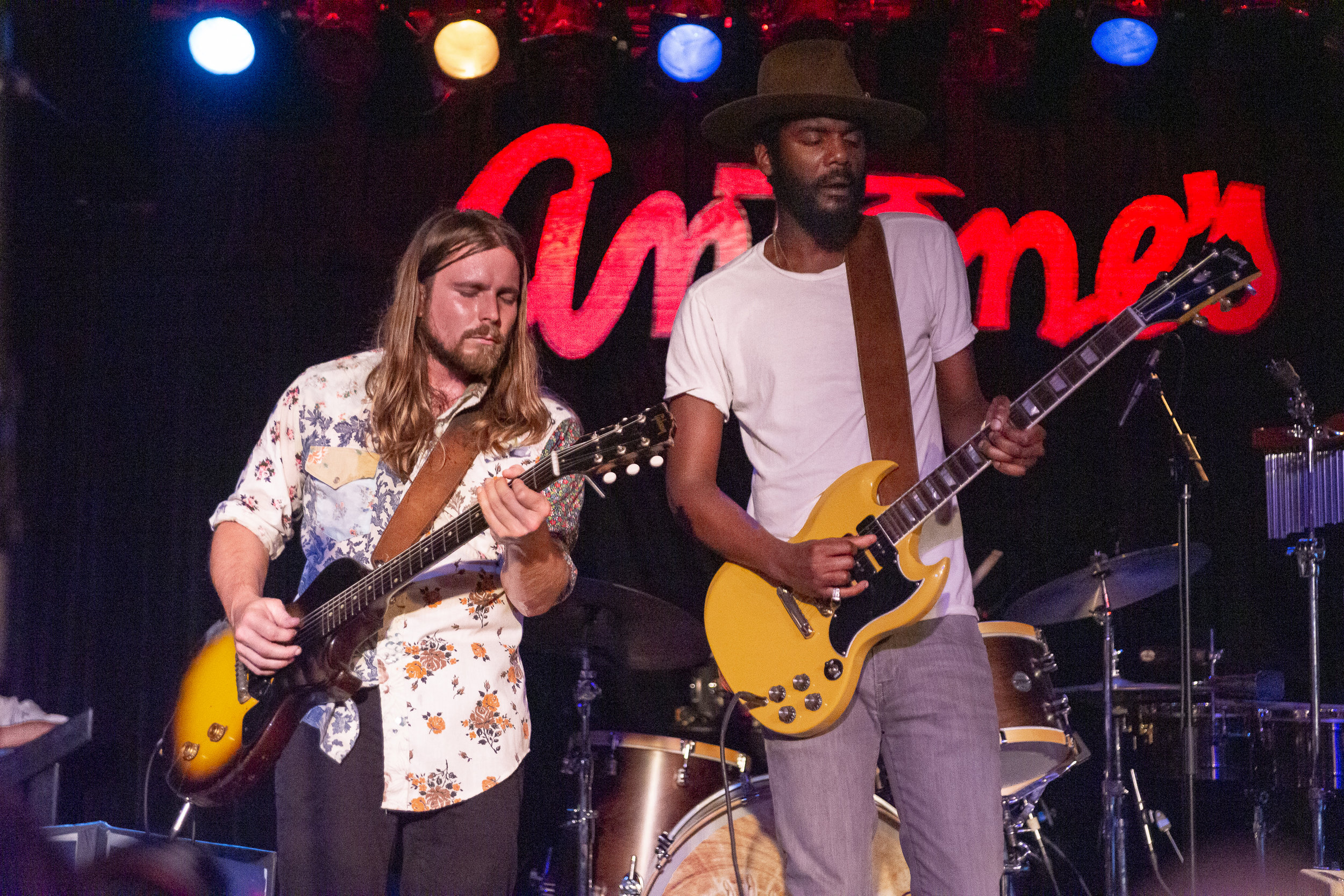 Lukas Nelson and Gary Clark Jr. Photo by Arnold Wells