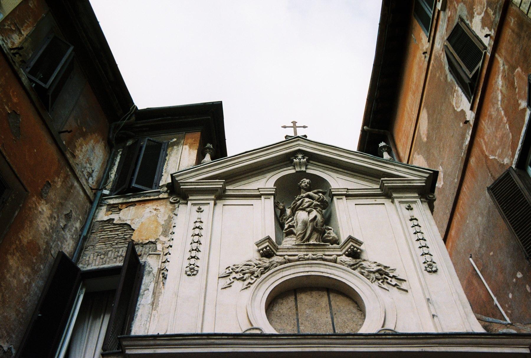 rome - saint barbara of the books