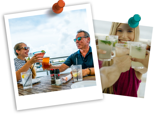 Summer Happy Hour    Every day   The best happy hour in Ft. Lauderdale just got better! Enjoy half off all beers, house wines and well liquors from 11 am – 6 pm every day, plus our fantastic weekly specials and our famous waterfront views.