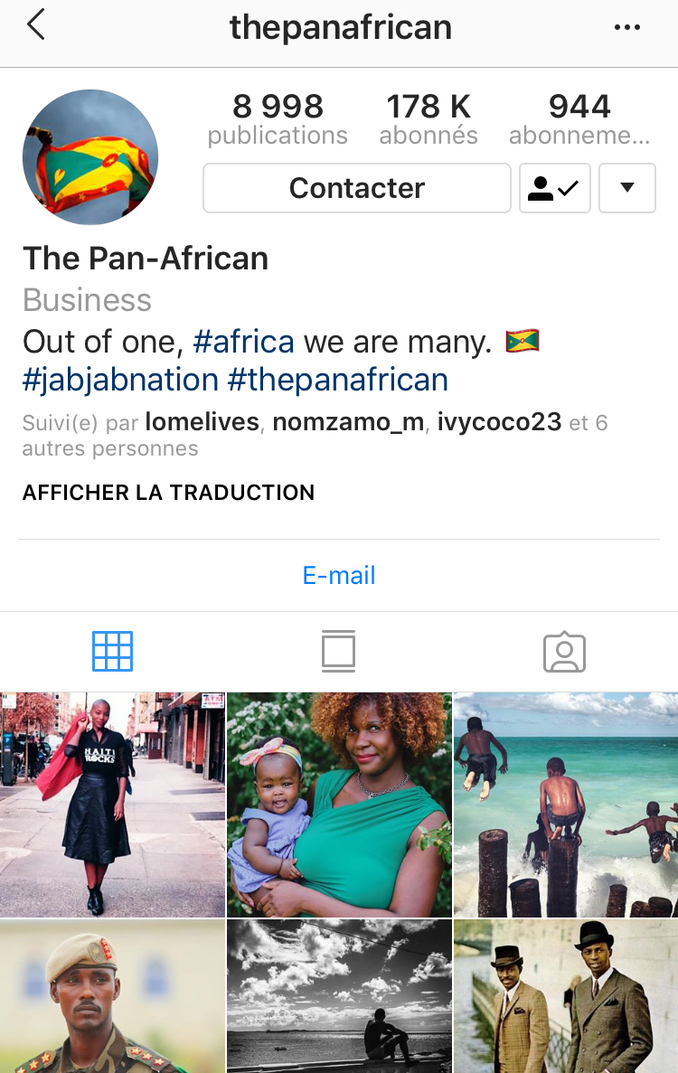@thepanafrican - A Pan-African account dedicated to African-American, Caribbean and African history and lifestyle.