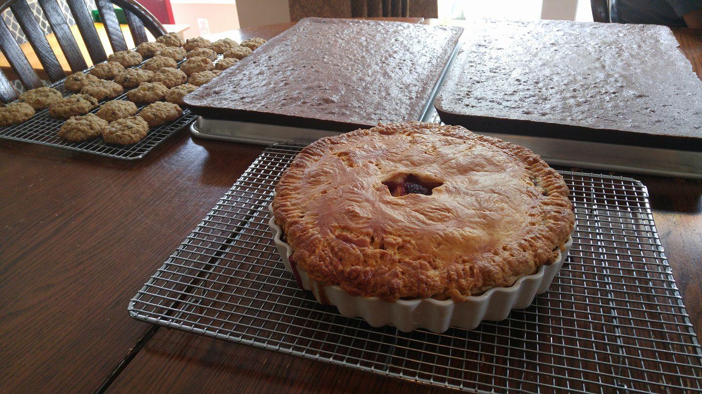 Berry Pies, Brownies, Cookies - by Carolyn Rodriguez
