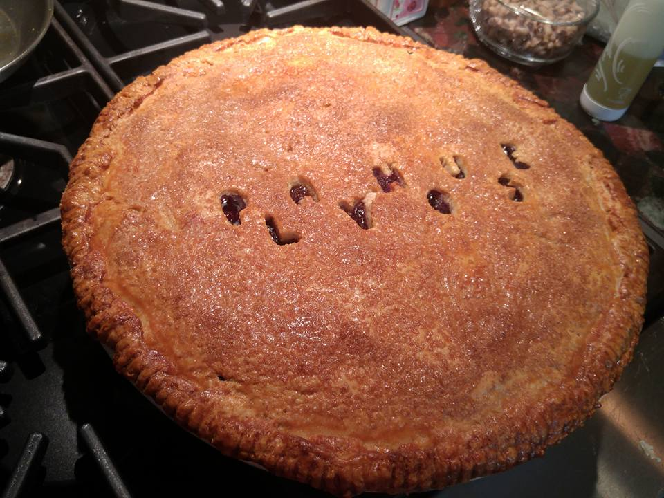 Personalized Pie - by Carolyn Rodriguez