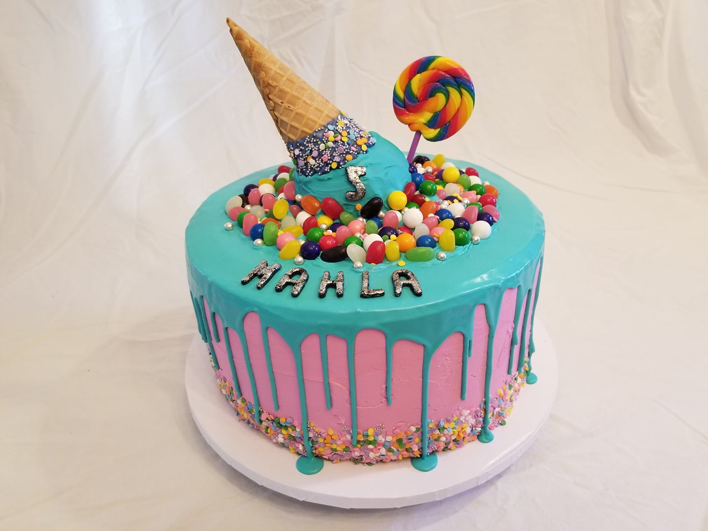 Candy Cake - by Carolyn Rodriguez