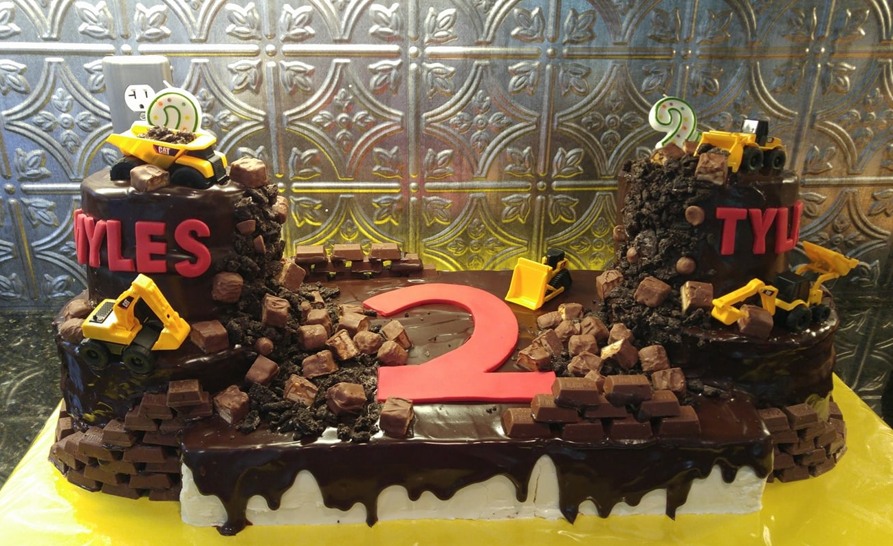 Construction Cake - by Carolyn Rodriguez