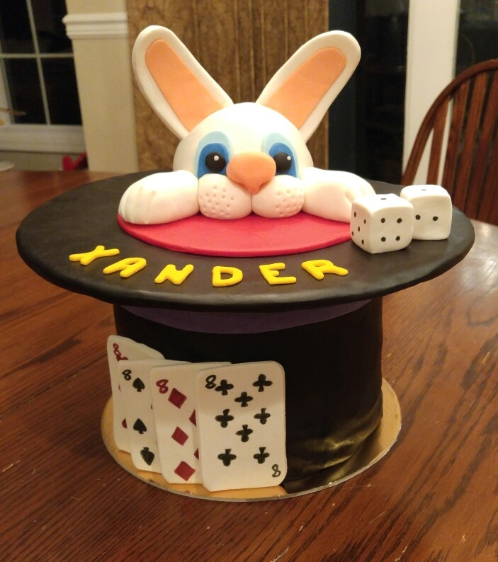 Rabbit in the Hat Magic Cake - by Carolyn Rodriguez