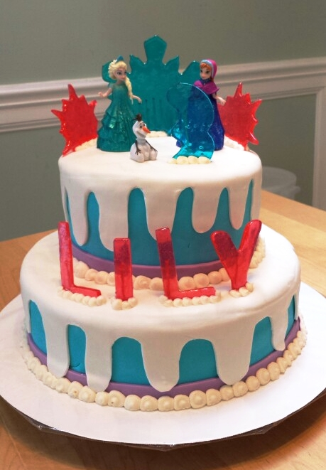 Frozen Cake - by Carolyn Rodriguez