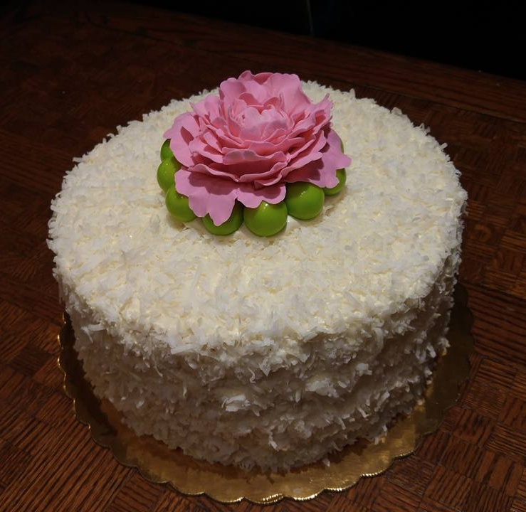 Elegant Coconut Cake - by Carolyn Rodriguez