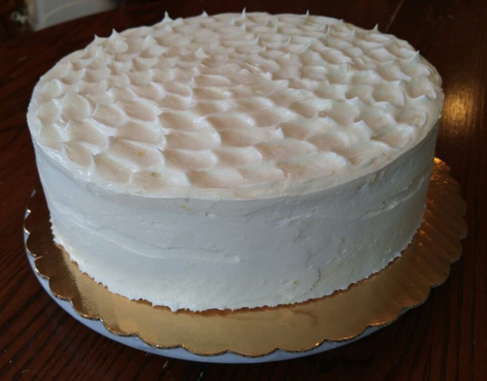 Swiss Buttercream Cake - by Carolyn Rodriguez