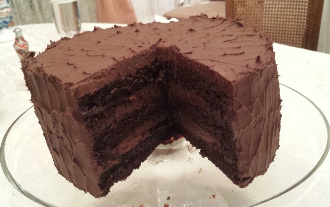 Chocolate Layer Cake - by Carolyn Rodriguez