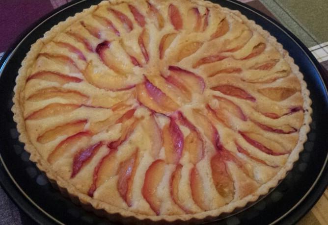 Peach Pie - by Carolyn Rodriguez