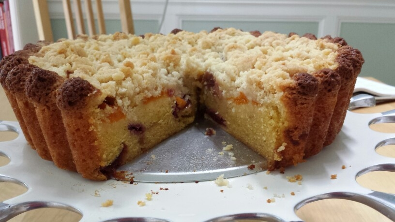 Crumb Cake - by Carolyn Rodriguez