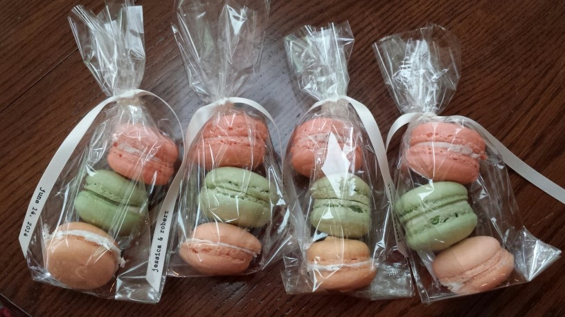 French Macarons for Wedding Favor - by Carolyn Rodriguez
