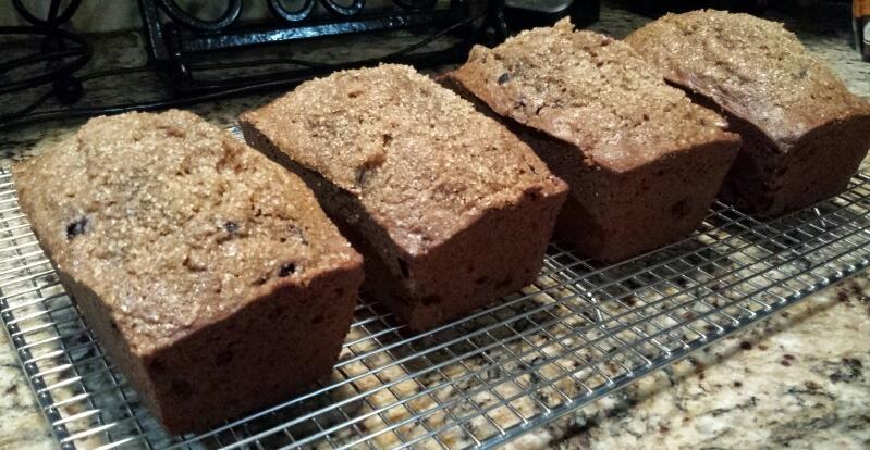 Strawberry Pecan Bread - by Carolyn Rodriguez