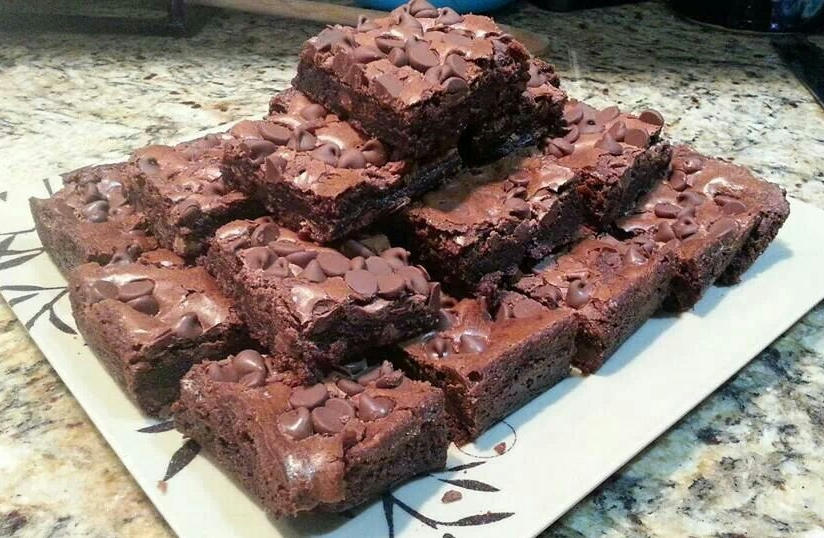 Double Chocolate Brownies - by Carolyn Rodriguez