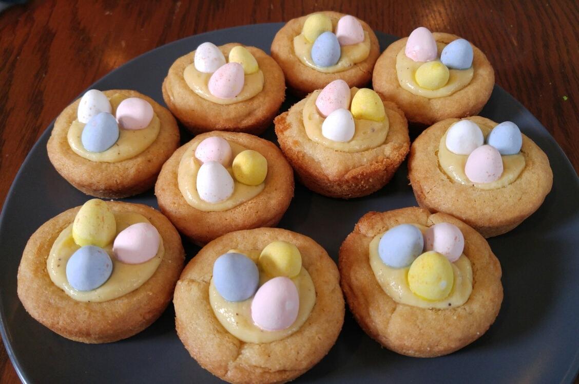 Lemon Curd Easter Egg Candy Tarts - by Carolyn Rodriguez