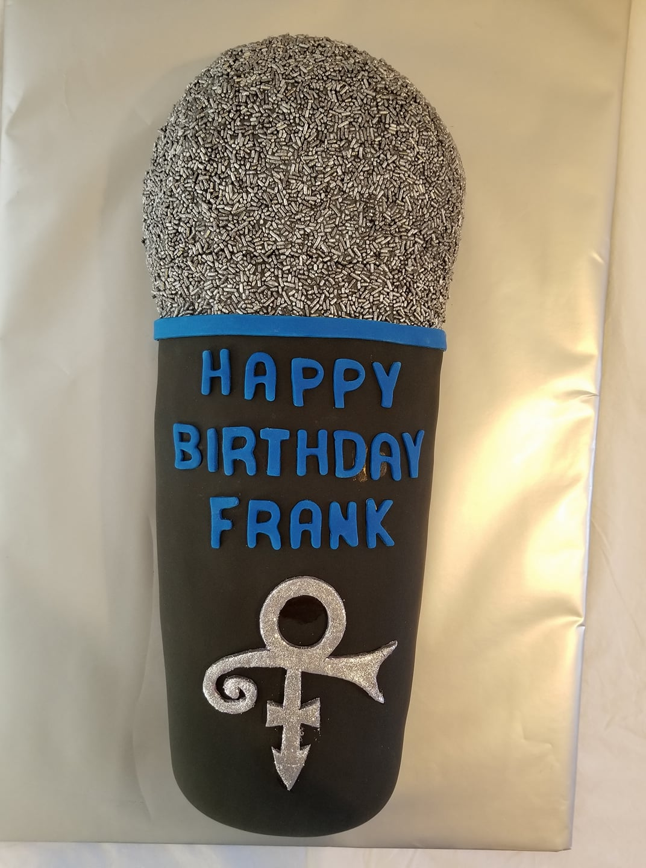 Microphone Cake - Singer Birthday