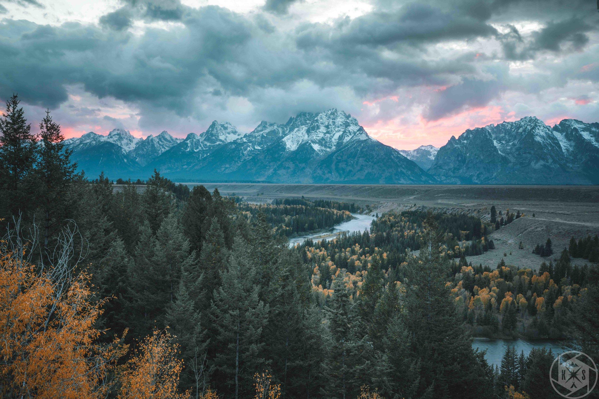 Snake River: Grand Tetons