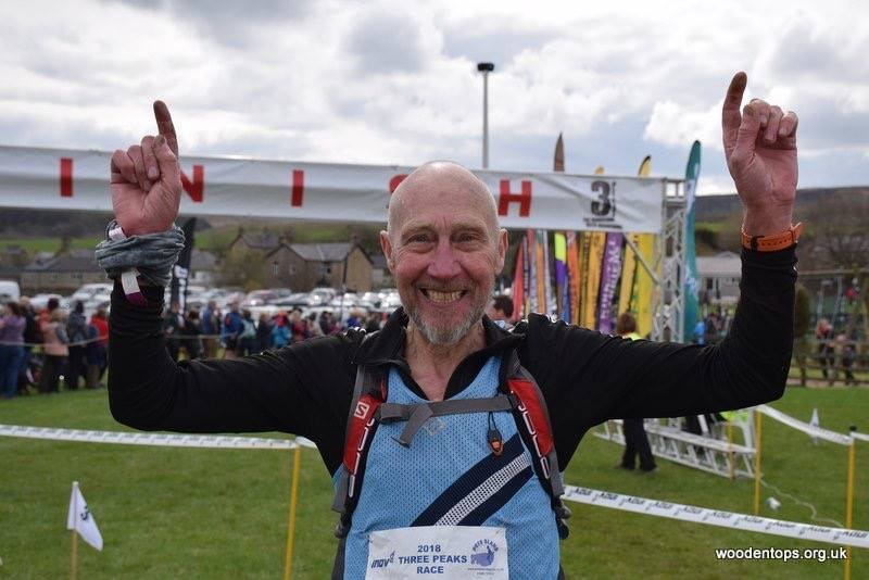 Ken Taylor, set the Men's Over-70 record in 2018 with a time of 4hrs 32mins 31secs