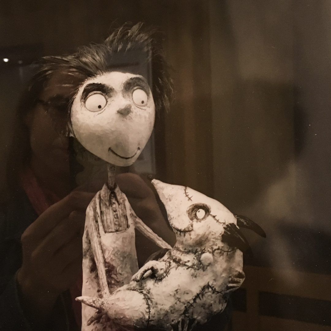 Frankenweenie  art; part of the Mackinnon & Saunders exhibition