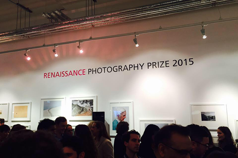 Renaissance Photography Prize 2015. Getty Images Gallery, London.