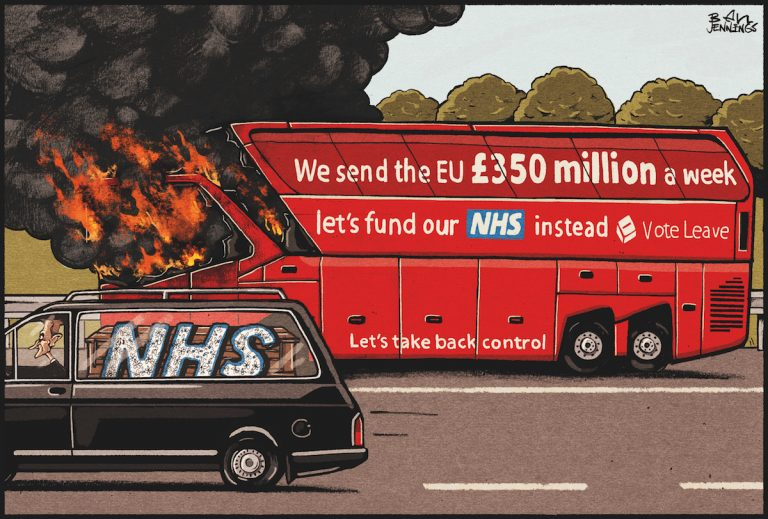 Drawn and quartered: Britain's political cartoonists  - The Jackal